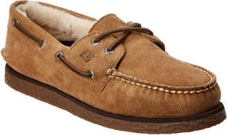 Sperry A/O 2 Eye Suede Boat Shoe