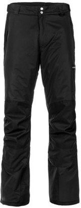 Lucky Bums Adult Insulated Reinforced Knees and Seat Men Women Snow Ski Pants, Black, X-Large