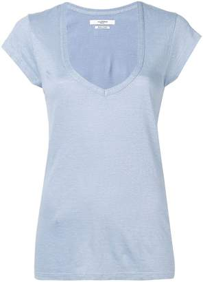 Etoile Isabel Marant short-sleeve fitted T-shirt
