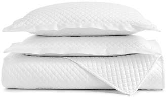 Charter Club Damask Cotton 3-Pc Quilted King Coverlet, Created for Macy's Bedding