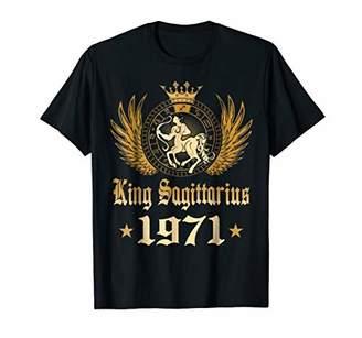 King Sagittarius 1971 T-shirt 47 Years Old 47th Birthday