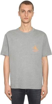 Calvin Klein Established 1978 Logo Printed Cotton T-shirt