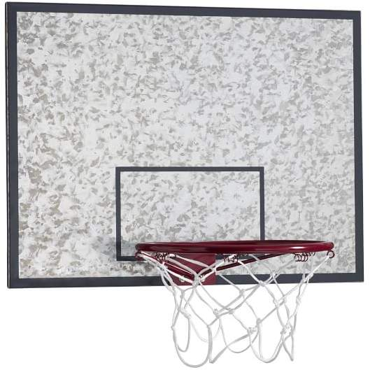 Galvanized Basketball Hoop And Dry-Erase Board