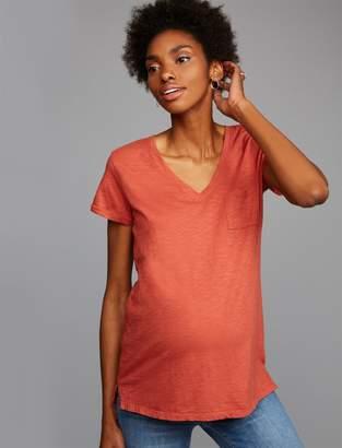 A Pea in the Pod Drop Shoulder Maternity T Shirt