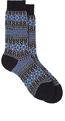 Barneys New York Men's Mapperton Cashmere-Blend Mid-Calf Socks