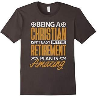 Church's Christian T Shirt Amazing Retirement Plan Gift Shirt