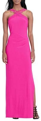 Lauren Ralph Lauren Stretch-Jersey Gown $180 thestylecure.com