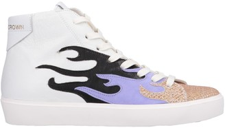 Leather Crown High-tops & sneakers - Item 11563892FV