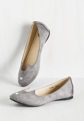 Tuk Mew and Me Forever Flat in Grey $59.99 thestylecure.com