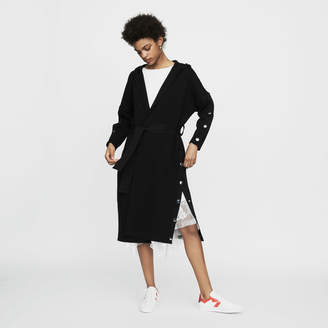 Maje Long hooded cardigan