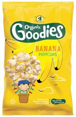 Organix Goodies Banana Puffcorn 12+ Months 4 x 10g (40g)