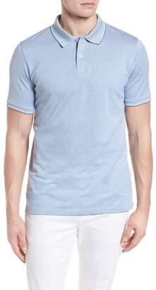 Stone Rose Jacquard Polo