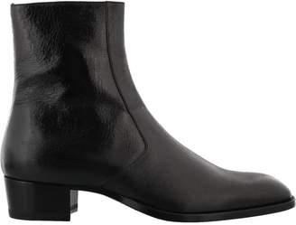 Saint Laurent Wyatt Ankle Boot
