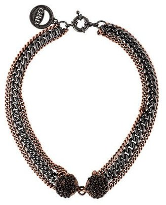 Giles & Brother Siren Multistrand Necklace $125 thestylecure.com