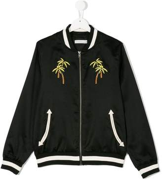 Stella McCartney palm tree bomber jacket