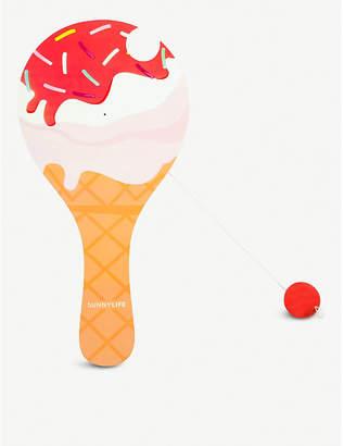 Sunnylife Ice cream-shaped paddle ball set