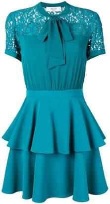 Blugirl pussy bow mini dress