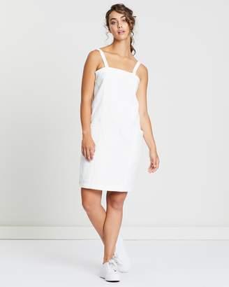 51e4465ed0 White Linen Slip Dress - ShopStyle Australia