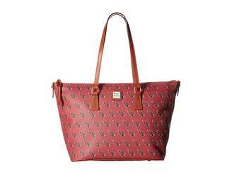 Dooney & Bourke NFL Zip Top Shopper Top-Zip Handbags