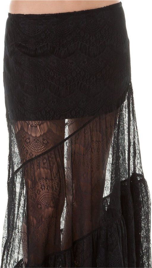 Billabong Tryst Tiered Skirt