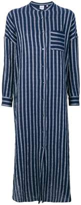 Aspesi striped patch pocket dress