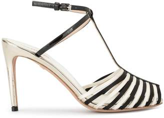 Giambattista Valli contrast open-toe sandals