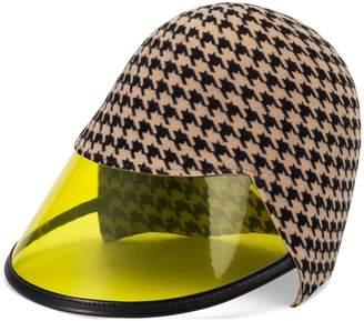 Gucci Felt hat with transparent visor