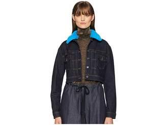 Versace Blouson Donna Denim/Jeans Jacket