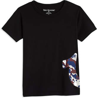 True Religion CAMO LOGO TEE