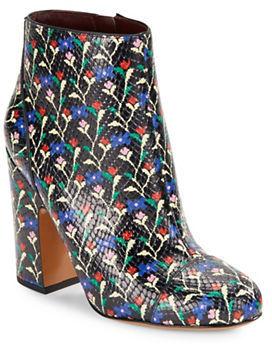 Marc JacobsMarc Jacobs Cora Floral Leather Ankle Boots