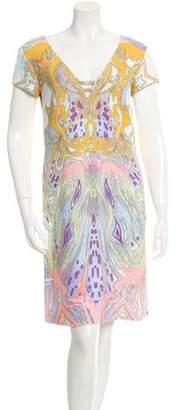 Emilio Pucci Printed Sheath Dress w/ Tags