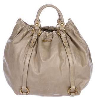 72434ee16853 Miu Miu Brown Shoulder Bags - ShopStyle