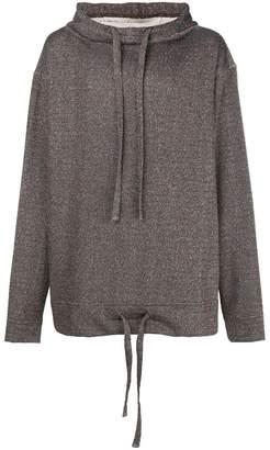 Forcerepublik oversized hooded jumper