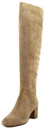Franco Sarto Kerri Tall Block Heel Boots - Mushroom, 9 US / 39 EU