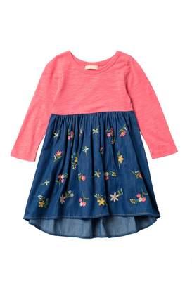 Mimi & Maggie Gardening Denim Dress (Baby, Toddler, Little Girls, & Big Girls)