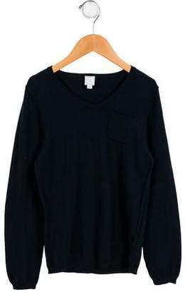 C de C Boys' Long Sleeve V-Neck Sweater