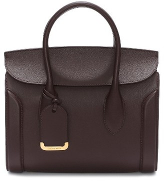 Alexander Mcqueen Medium Heroine Calfskin Leather Shopper - Red $2,490 thestylecure.com
