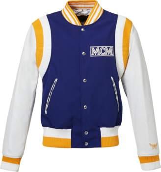 MCM Men's Classic Logo Stadium Jacket