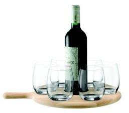 Seven-Piece Water and Wine Serving Set
