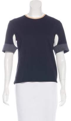VPL Short Sleeve Cutout Top w/ Tags