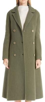 Mansur Gavriel Boiled Wool Blend Coat