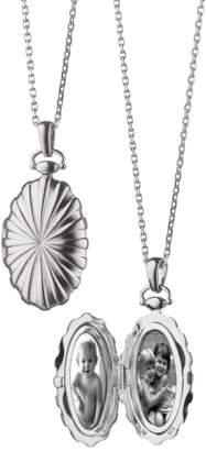 Monica Rich Kosann Sunburst Locket Necklace