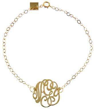 ginette_ny Mini Lace Monogram Bracelet