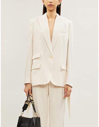 Stella McCartney Single-breasted slim-fit wool-blend blazer