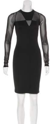 Versace Mini Long Sleeve Dress