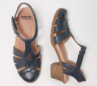Earth Leather Mary Janes - Marietta Capella