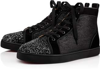 Christian Louboutin Louis P Strass Men's Flat