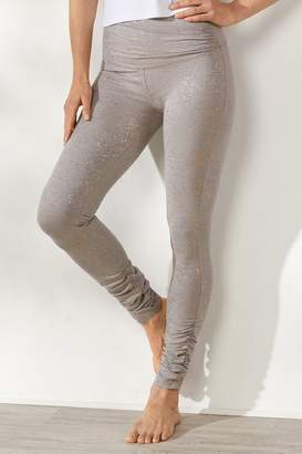 Soft Surroundings Crossover Ruched Leggings