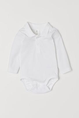 H&M Pique bodysuit