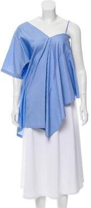 Maison Margiela Striped Asymmetrical Tunic w/ Tags